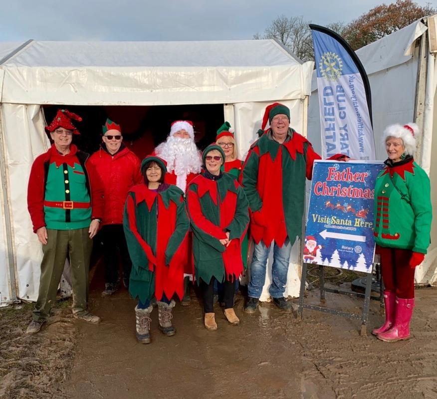 Hatfield at the Aldenham Country Park Frost Fair -