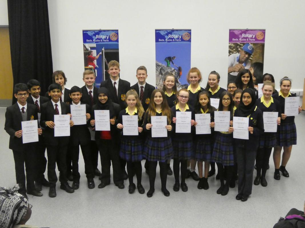 Mid Herts Youth Speaks Competitions -