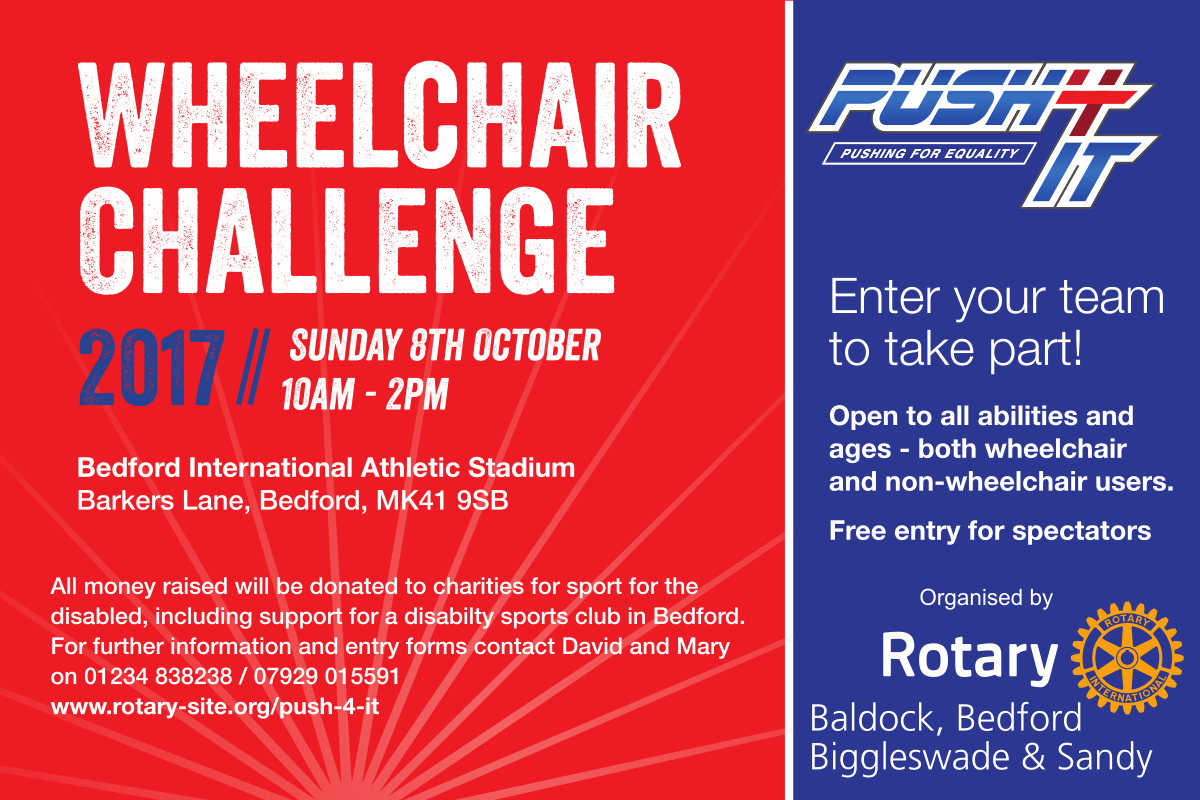 Push4It 2017 Wheelchair Relay Challenge