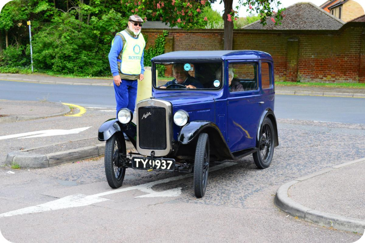 Royston Historic Vehicle Show -