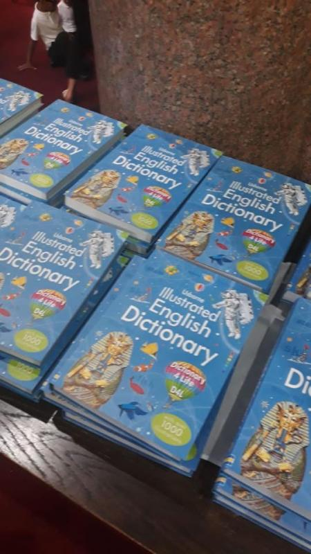 Dictionaries for Tameside Schools - Dictionaries Donated to Local Schools