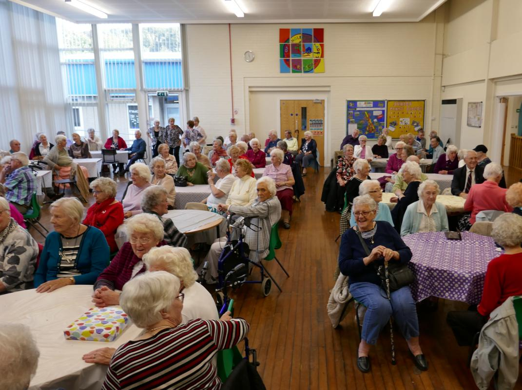 Afternoon Tea and Concert for Cottingley Seniors -