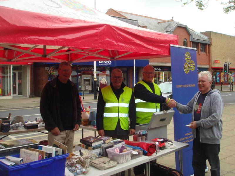 International Committee & Foundation - Bric-a-brac Stall Formby Village
