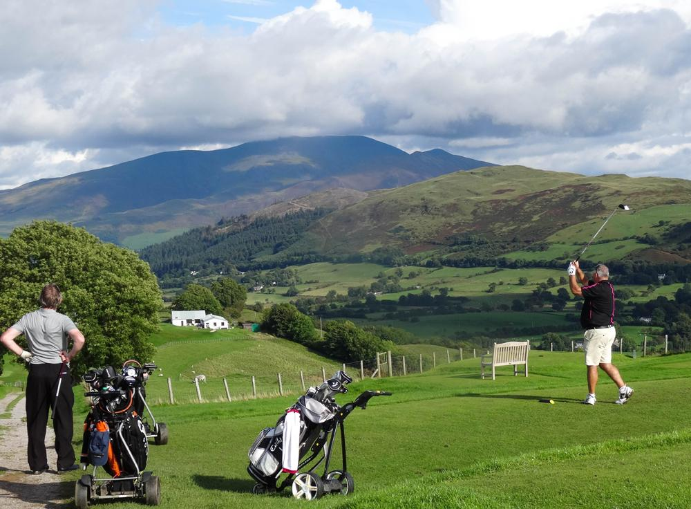Golf Tournament 2016 - Rotary Club of Cockermouth's 2016 tournament.