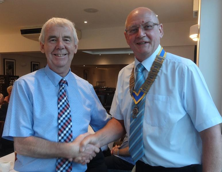 Handover Night June 2015 - Phil Edwards and Paul Johnson