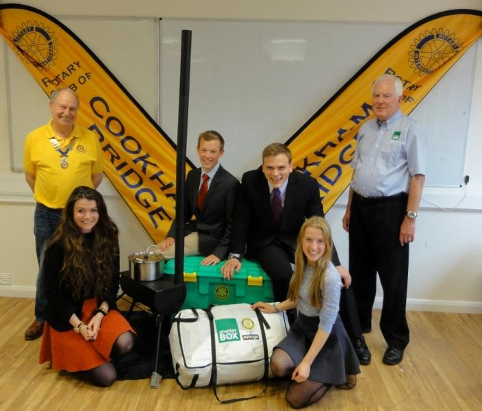 International Projects - Local Schools Raise Funds to Fill Shelterboxes