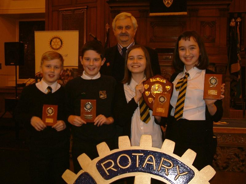 Primary Schools Quiz 2015 - This year's winners - Fenwick Primary School