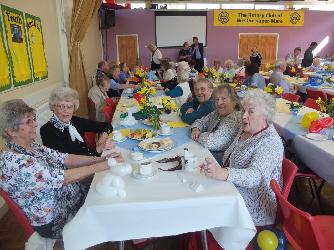 Annual Easter Party - Easter Party afternoon tea