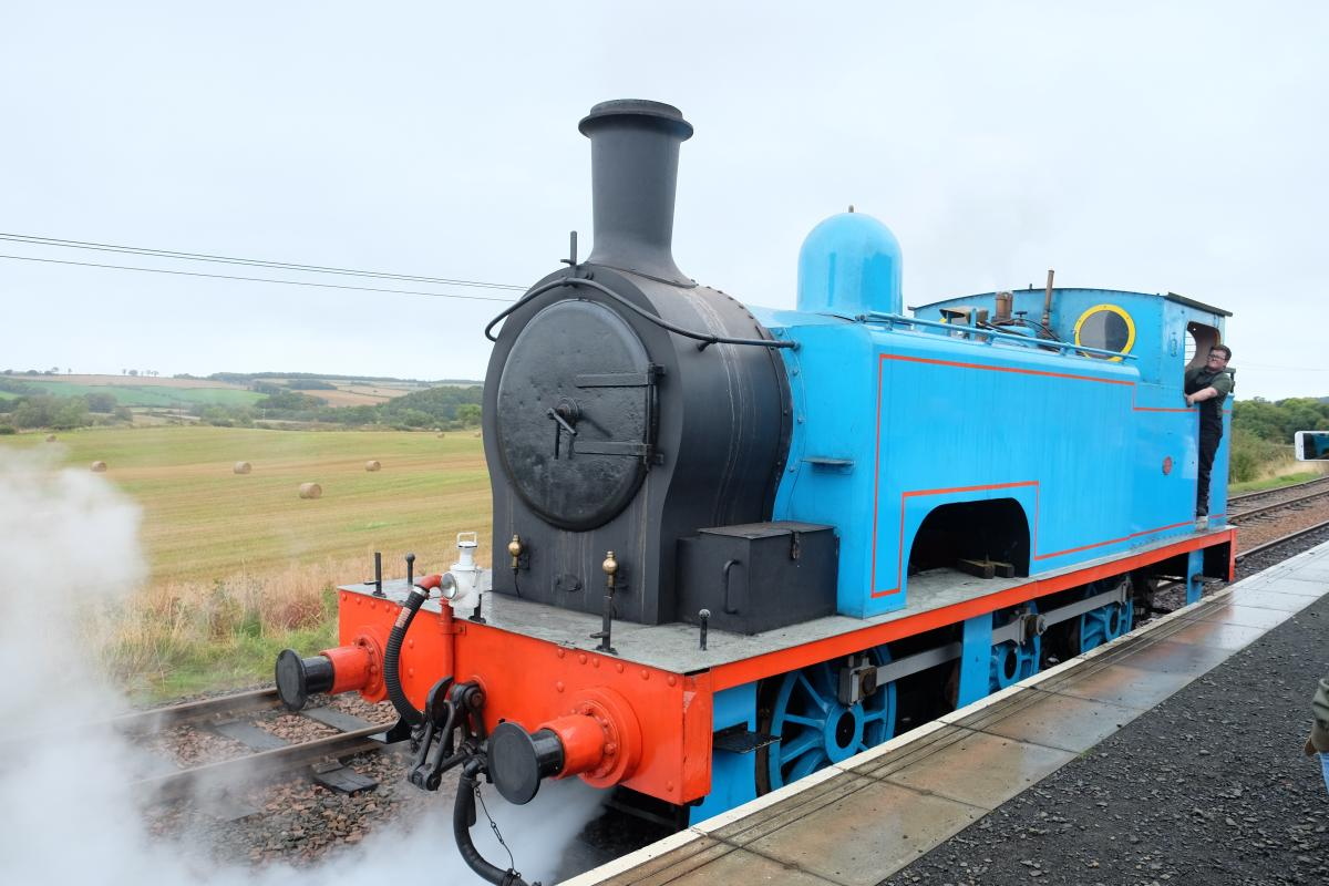 Afternoon tea on the Boness and Kinneil Railway - Thomas the Tank Engine