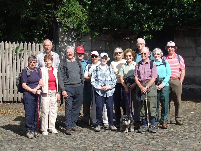 Strollers visit to Dalkeith Palace Park -
