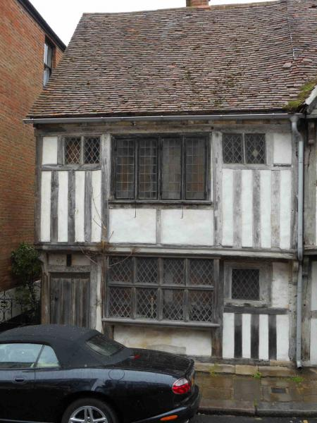 Club Visit to Tudor House in Hastings - Deceptive frontage