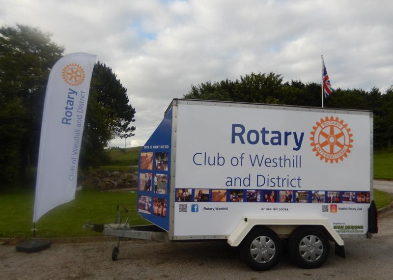 Westhill RC Trailer takes to the road -