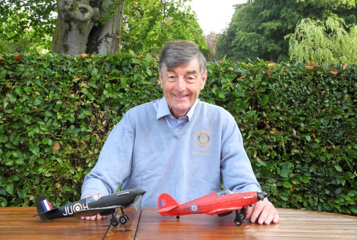 "Peter Holmes- ""The Battle of Britain"" - Thursday 17 Sept chat @ 18.45 meet @ 19.00"