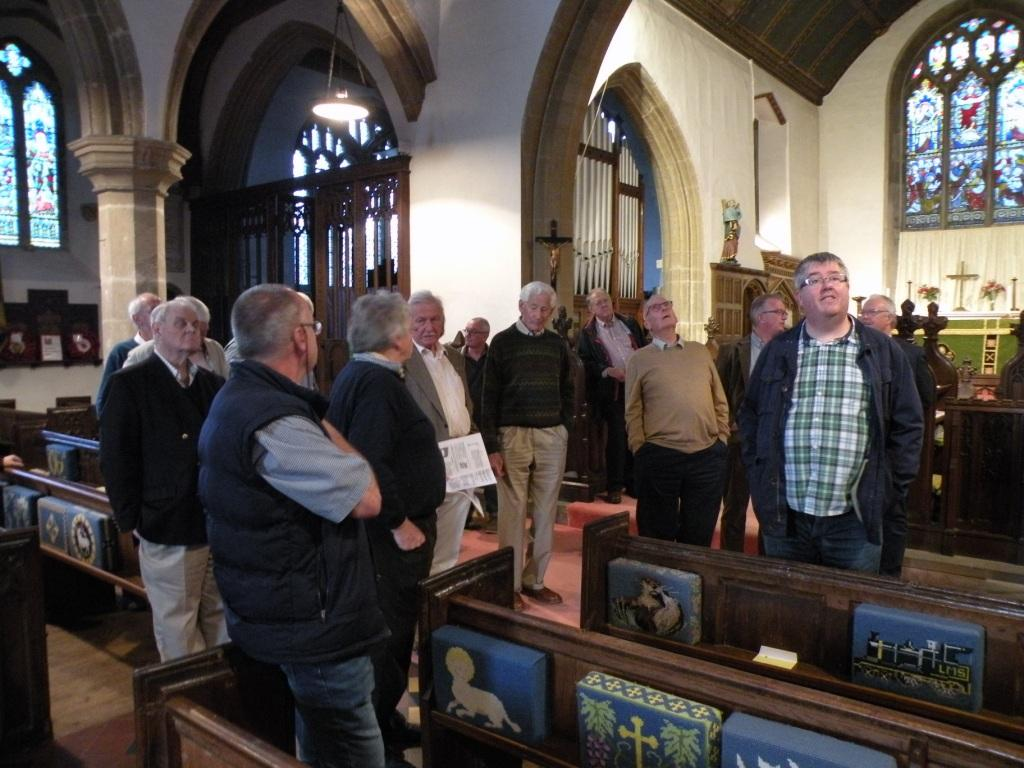 Visit to St Andrews Church Cheddar -