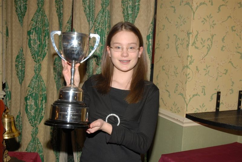 Young Speaker of the Year 11th March  2008 - Lyndsey Johnson - 2008 Young Speaker of the Year