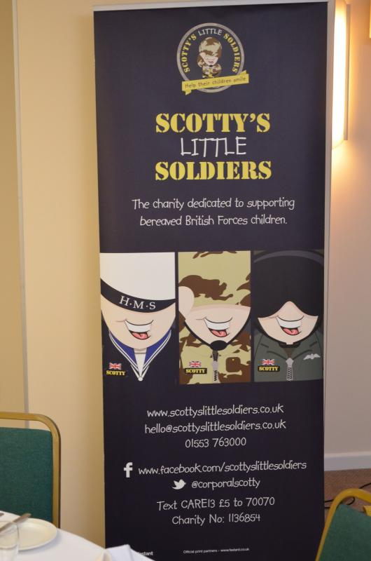 Charity Remembrance Ball Raises £6600 - The 'pull-up for 'Scotty's Little Soldiers'