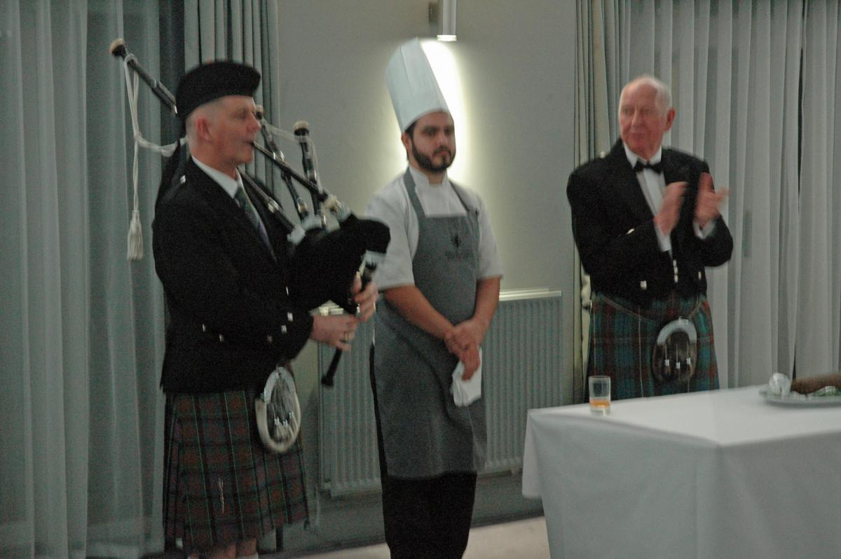 Burns' Night Celebration - The Haggis