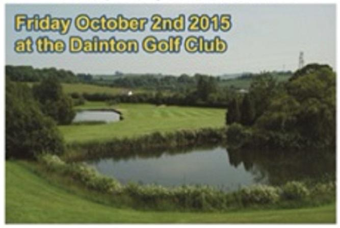 Charity Golf Day at Dainton Golf Club - 2015 - Charity Golf Tournament at Dainton Golf Club - 2015