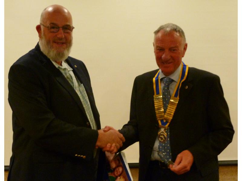 Business Meeting - David Taylor joins Southport Links Rotary