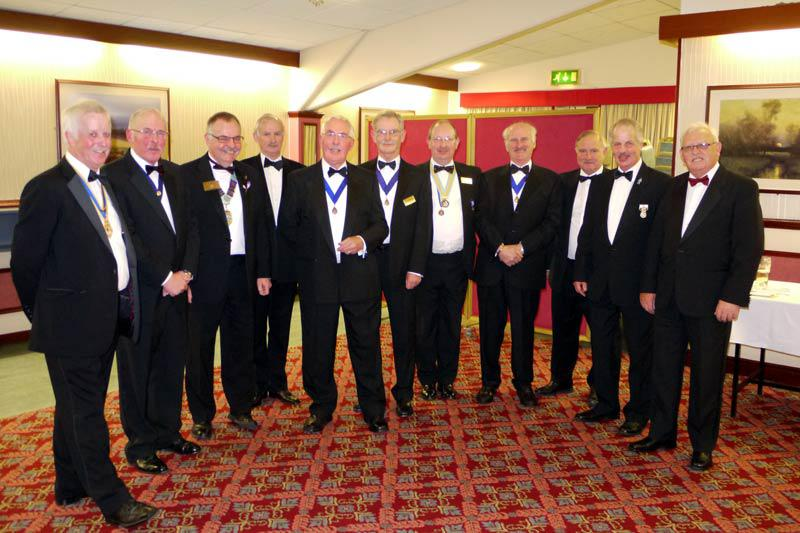Some of the members of the Rotary Club of Carlisle who supported the Movember campaign by raising some £4,000 to increase awareness of Prostate Cancer, support those living with cancer and fund research into Prostate and Testicular cancer