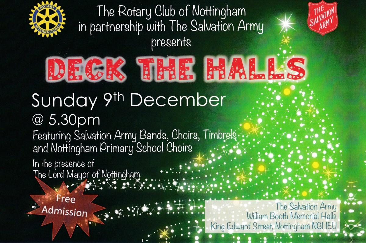 Deck The Halls Rotary Club Of Nottingham