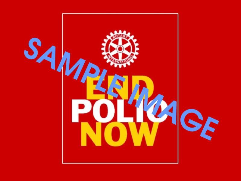 End Polio Now - Rotary plays a leading role in the eradication of Polio worldwide.
