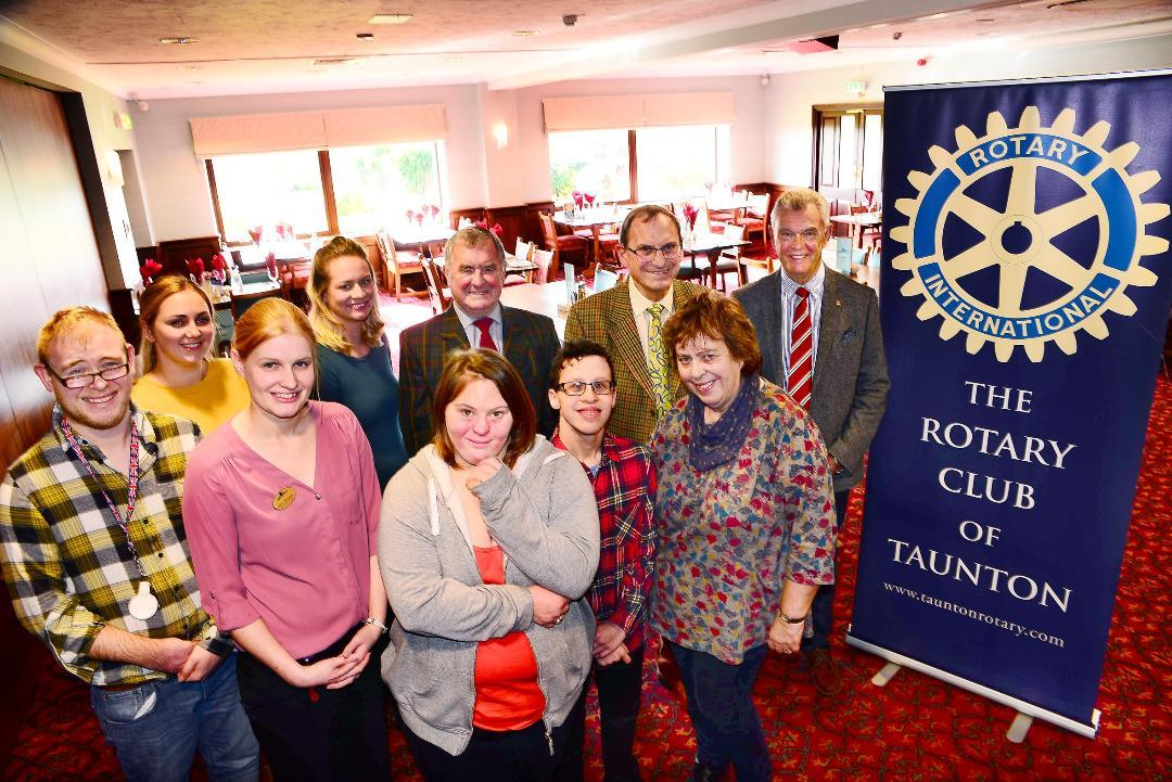 Taunton Rotary sponsors Somerset's First Disability Ball