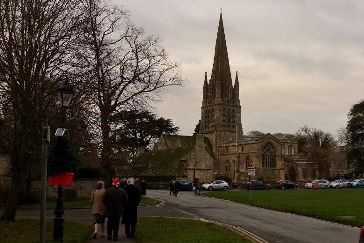 Pinner Rotary at District 1090 Carol Service -
