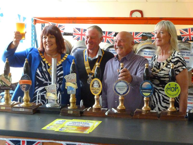 The opening of The Tarleton Beer Festival