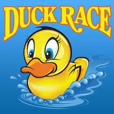 Annual Duck Race  on Easter Sunday, 21 April 2019 -