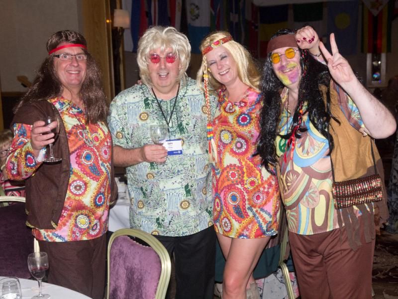 60's themed dance at district conference 2014