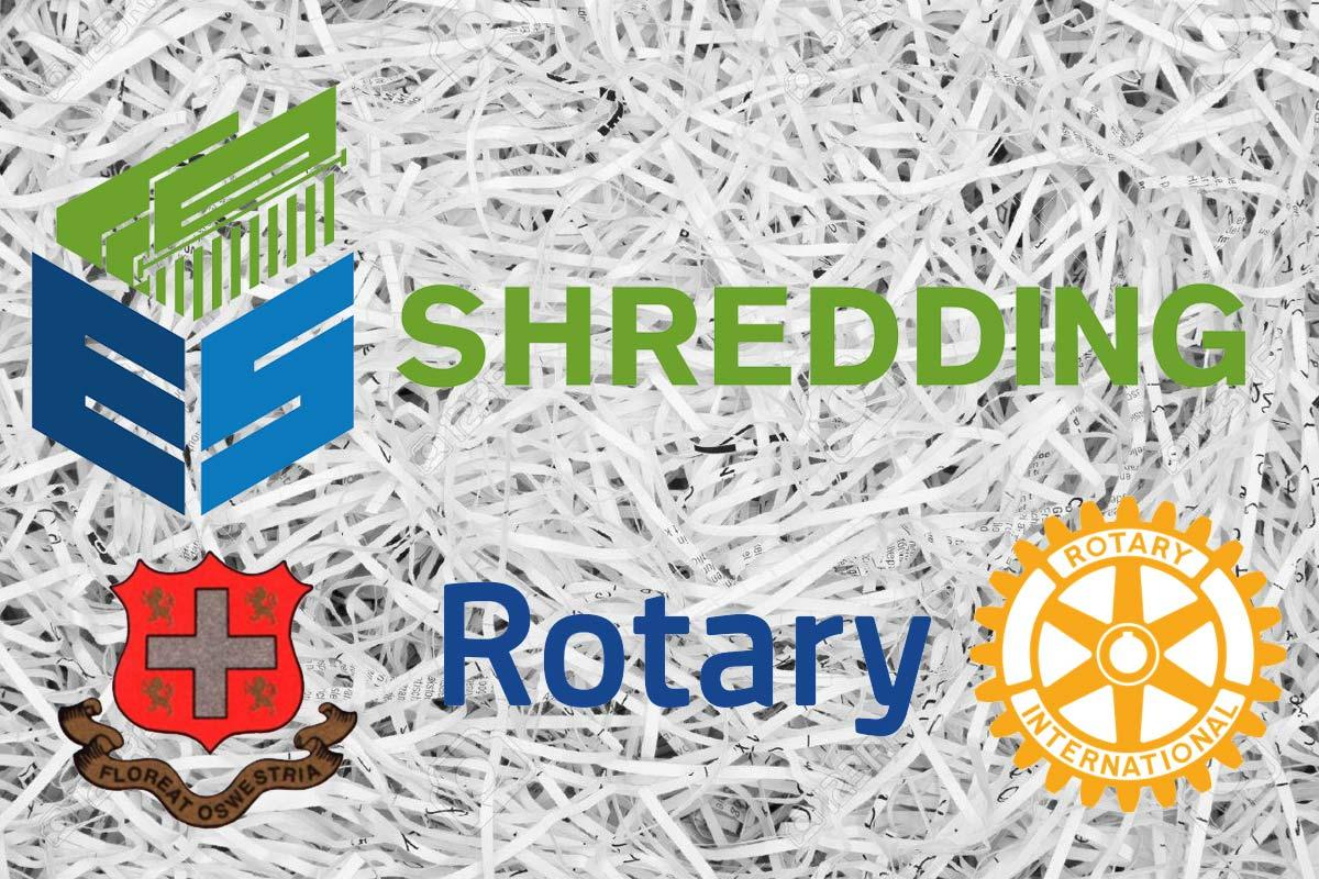 EVAStore/Rotary/Oswestry Town Council Shredding Event @ The