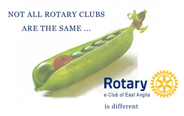 The rotary eClub is different in that we meet differently and communicate differently to other Rotary Clubs, otherwise we stand for the same things.