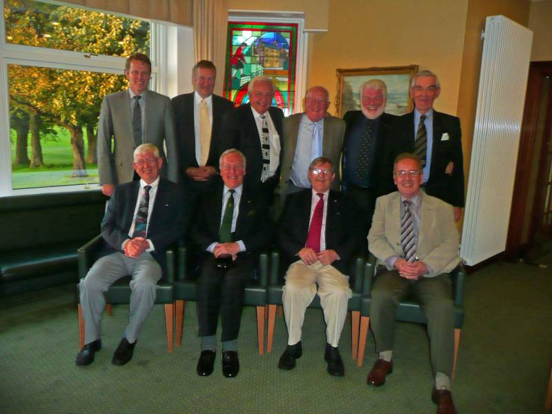 Members of the Rotary Club of Glasgow Golf team.