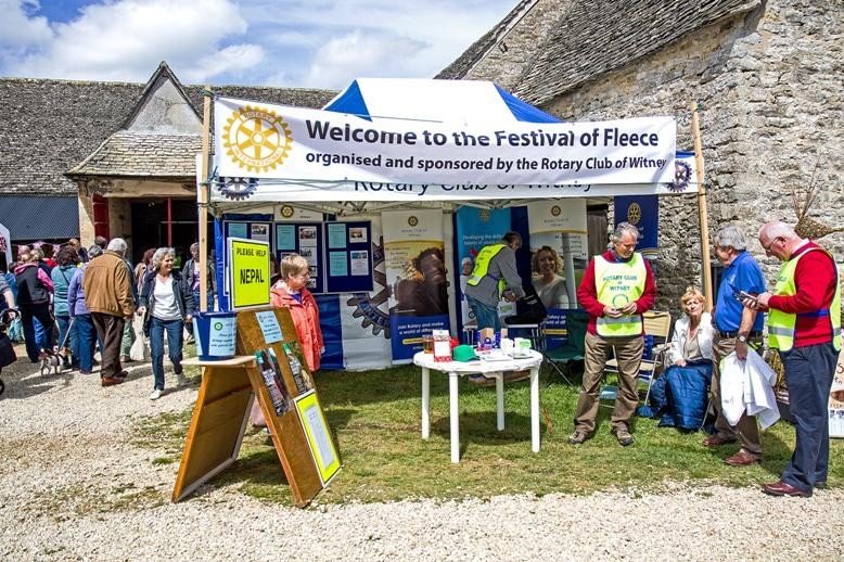 Sixty Years of 'Rotary in Witney' celebrated at Cogges Manior Farm Witney
