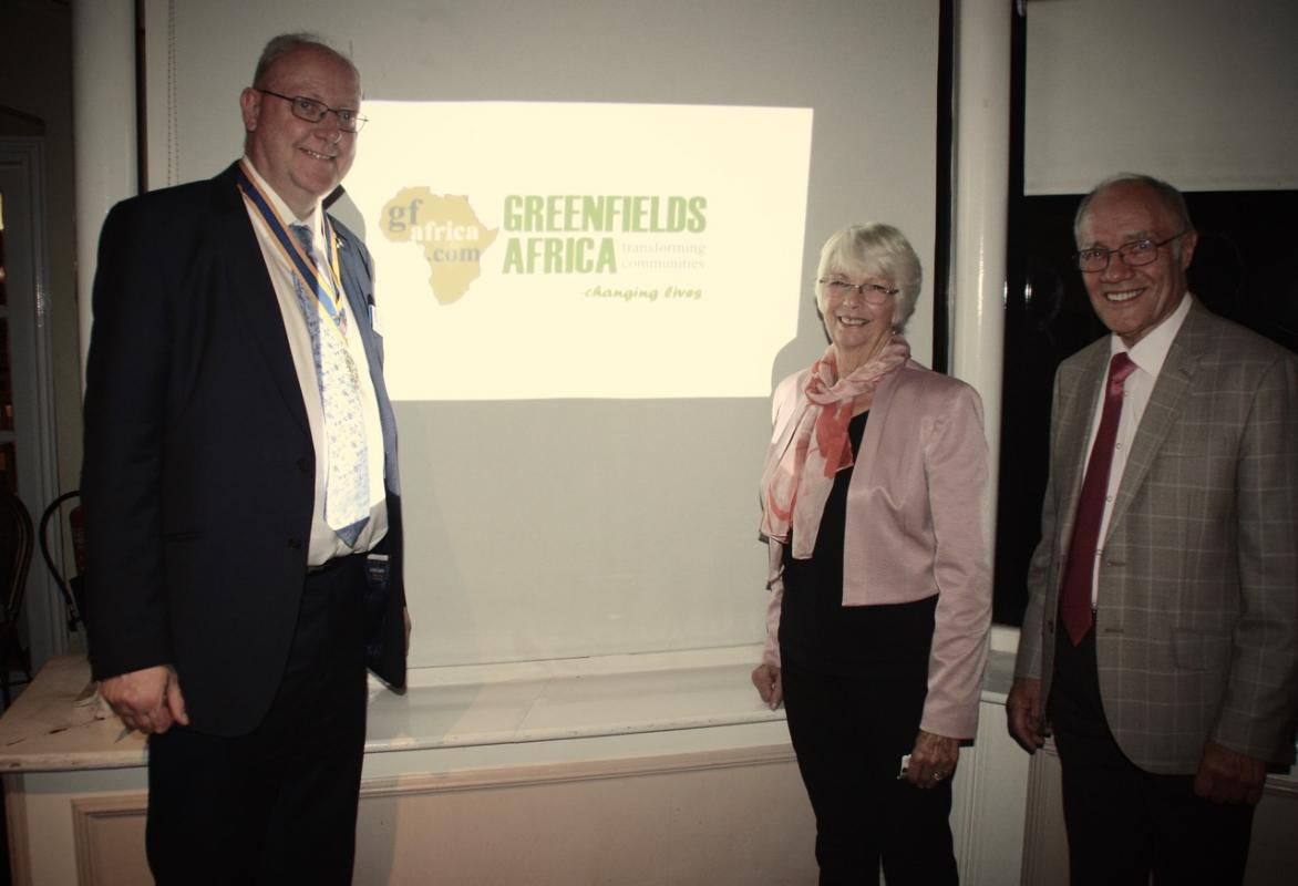 Barbara and Brian Hatton from Greenfields Africa
