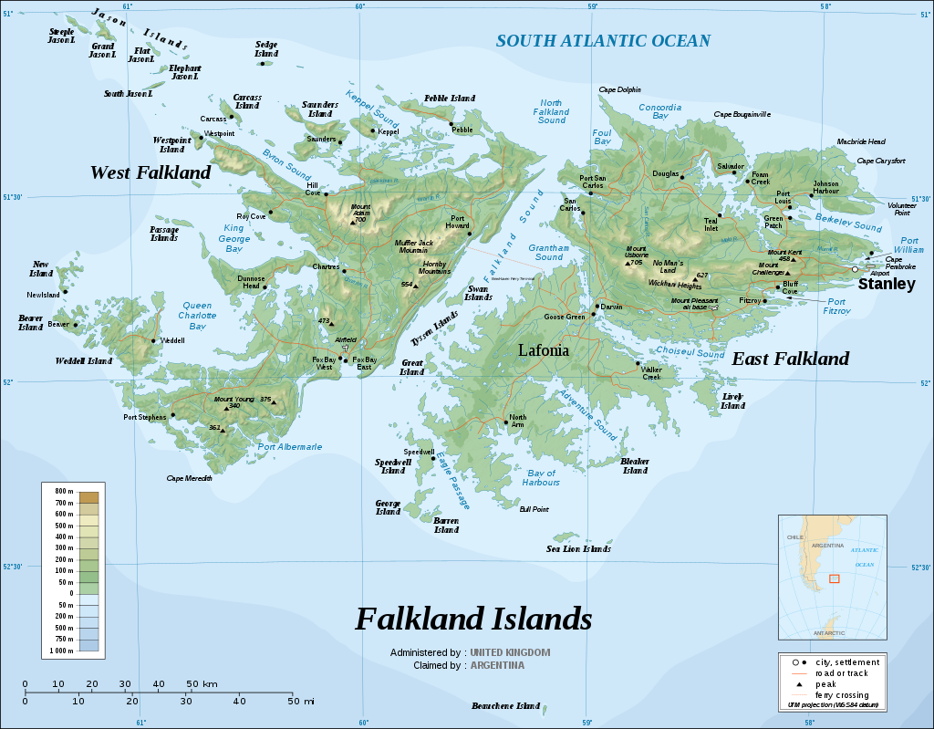 Speaker Anita Mosey - East and West Falkland were the main islands in an archipelago of over 700 islands!
