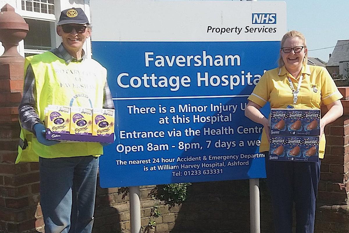 Faversham Rotarians at Work