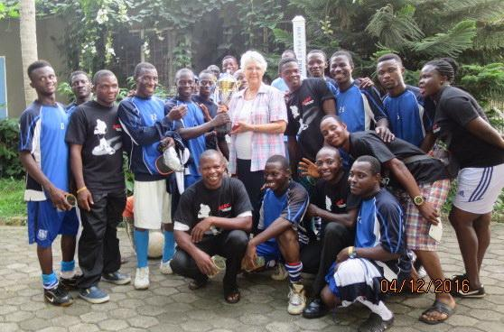 Tranmere Rovers kit arrives in Ghana!