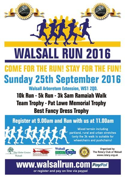 Walsall Fun Run - Walsall Run 2018 - Click for photos