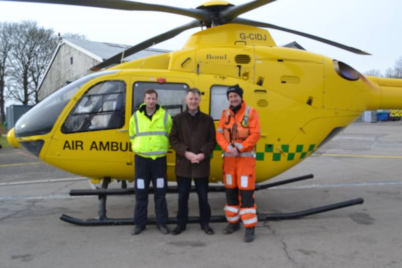 The Crew of the GWAAC Helicopter