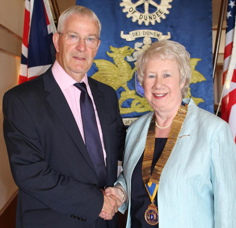 Dundee Rotary Club appoints first female president -