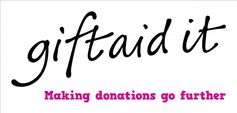 GIFT AID YOUR DONATION -