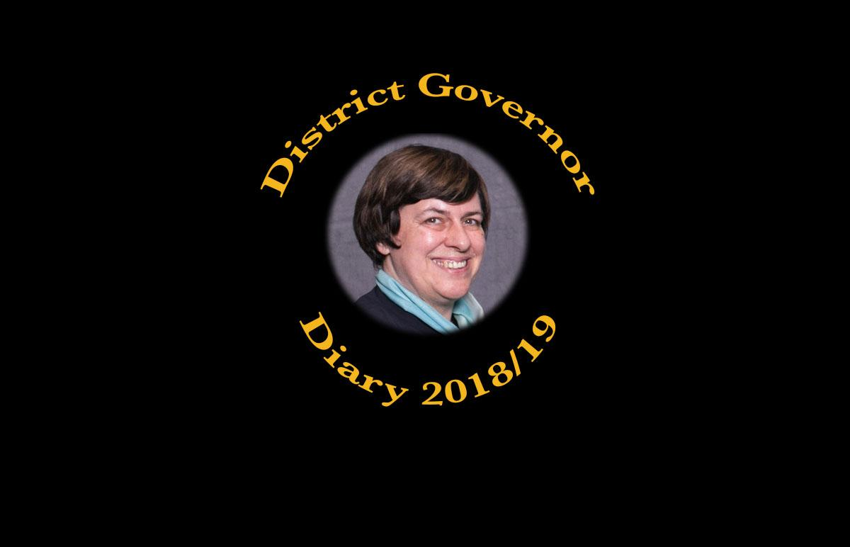 District Governor's Diary 2018-19 -