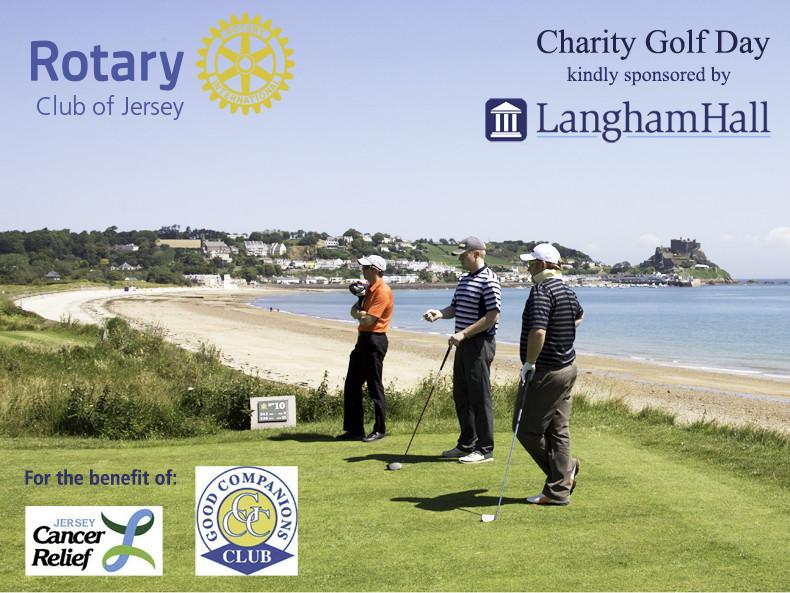 Tackling Royal Jersey for the benefit of two local charities.