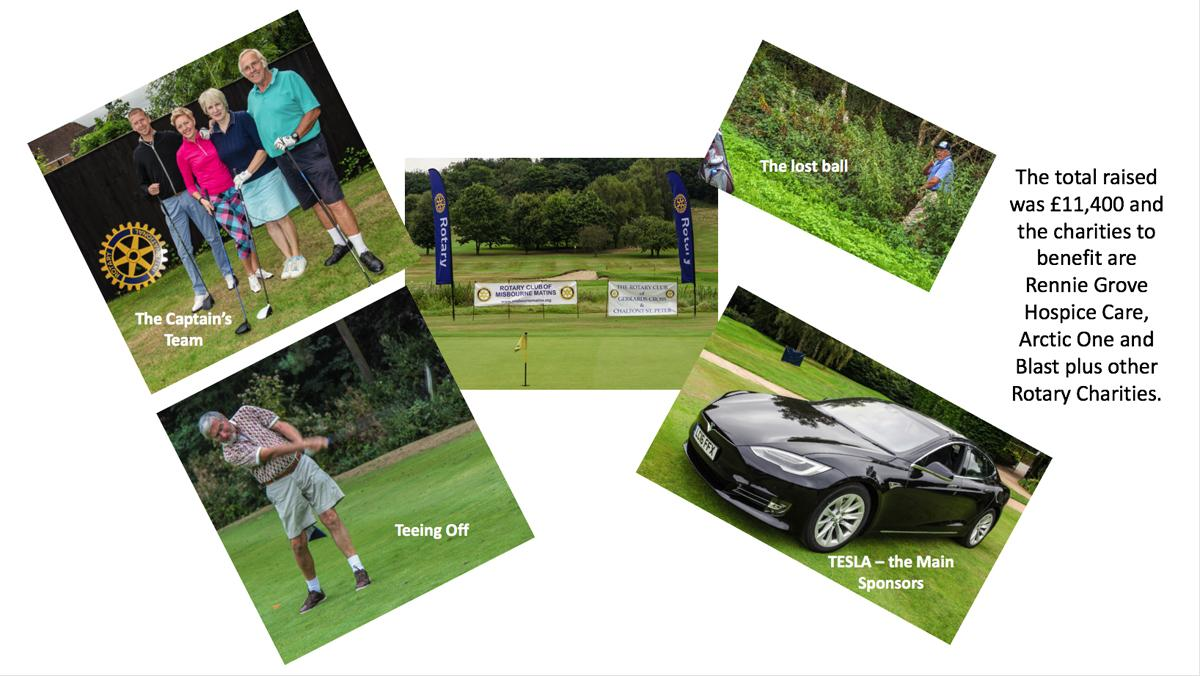 Charity Golf Day Montage