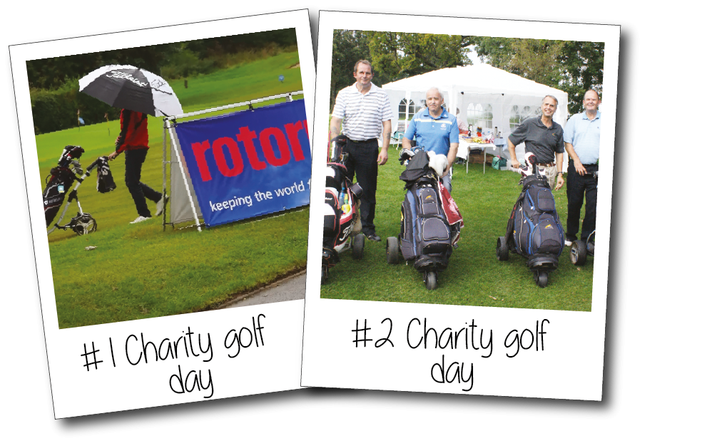 Our 'best in the West' charity golf day, held in September