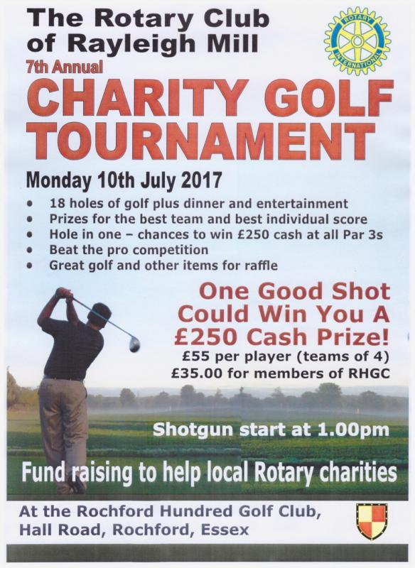 One good shot could win you £250!