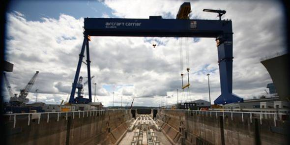 Goliath Crane at Rosyth -  Talk from Nick Masson and Alasdair MacIver