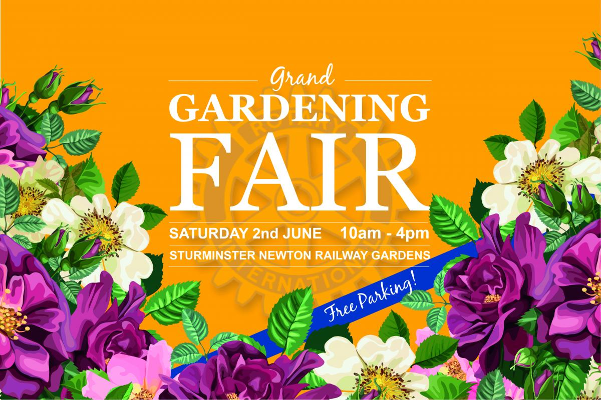 Join us for our Grand Gardening Fair - Saturday 2nd June from 10am-4pm